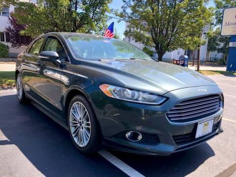 2015 Ford Fusion for sale at Ataboys Auto Sales in Manchester NH