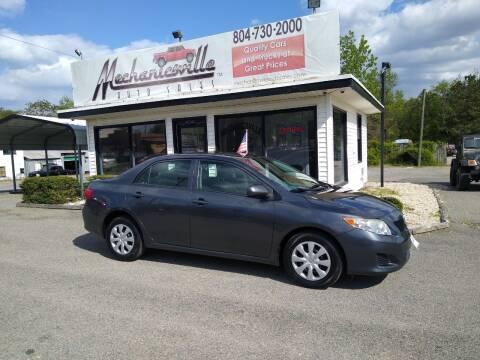 2009 Toyota Corolla for sale at Mechanicsville Auto Sales in Mechanicsville VA