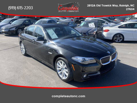 2016 BMW 5 Series for sale at Complete Auto Center , Inc in Raleigh NC