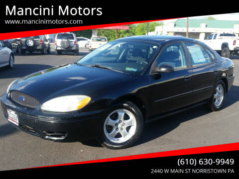 2006 Ford Taurus for sale at Mancini Motors in Norristown PA