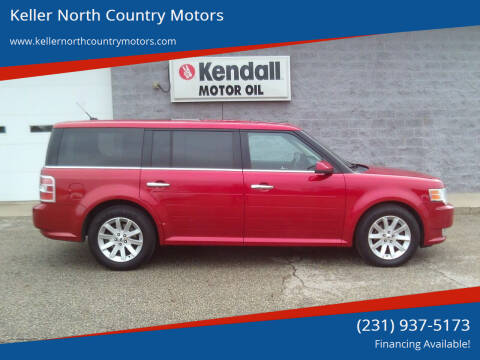 2012 Ford Flex for sale at Keller North Country Motors in Howard City MI