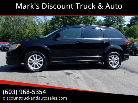 2016 Dodge Journey for sale at Mark's Discount Truck & Auto in Londonderry NH