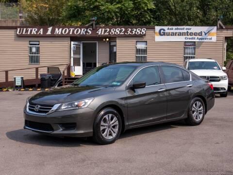 2014 Honda Accord for sale at Ultra 1 Motors in Pittsburgh PA