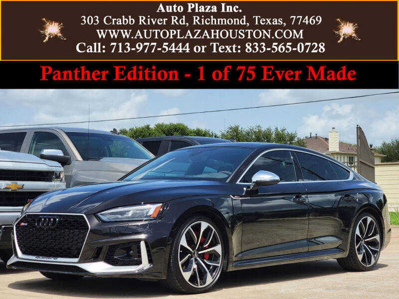 2019 Audi RS 5 Sportback for sale in Richmond, TX