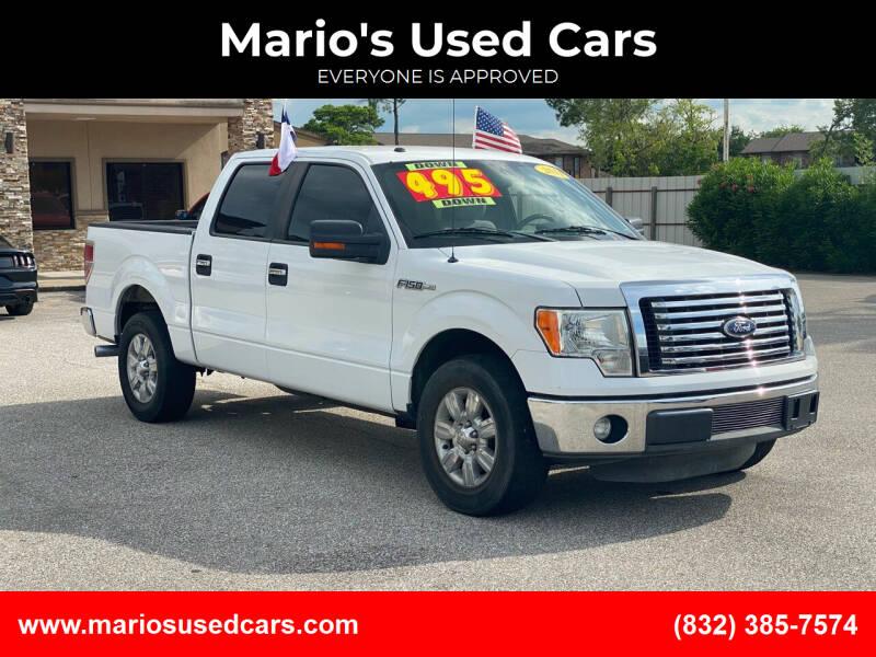 2011 Ford F-150 for sale at Mario's Used Cars - Pasadena Location in Pasadena TX