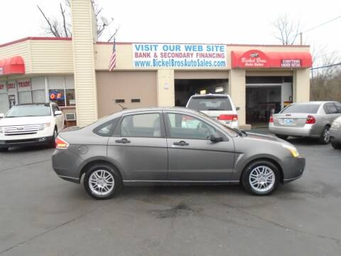 2010 Ford Focus for sale at Bickel Bros Auto Sales, Inc in Louisville KY