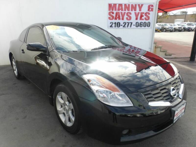 2008 Nissan Altima for sale at Manny G Motors in San Antonio TX