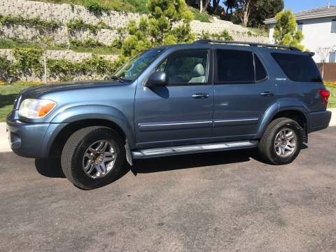 2005 Toyota Sequoia for sale at CALIFORNIA AUTO GROUP in San Diego CA