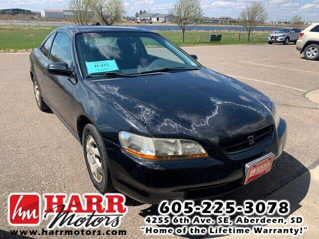 1998 Honda Accord for sale at Harr Motors Bargain Center in Aberdeen SD