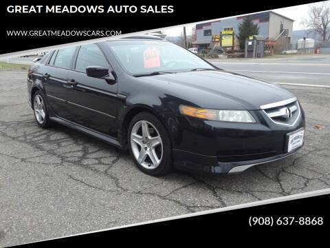 2005 Acura TL for sale at GREAT MEADOWS AUTO SALES in Great Meadows NJ