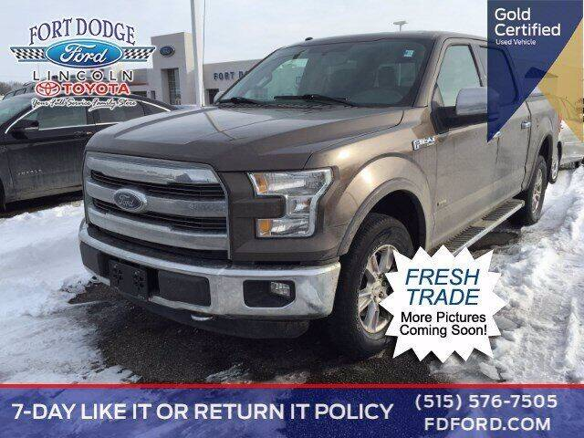 2016 Ford F-150 for sale at Fort Dodge Ford Lincoln Toyota in Fort Dodge IA