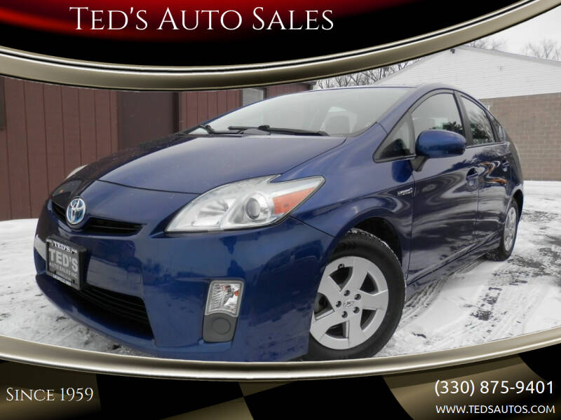 2010 Toyota Prius for sale at Ted's Auto Sales in Louisville OH