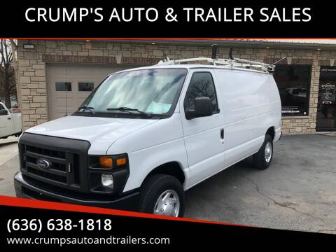 2012 Ford E-Series Cargo for sale at CRUMP'S AUTO & TRAILER SALES in Crystal City MO