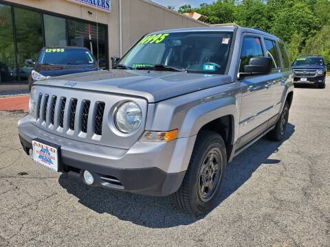 2016 Jeep Patriot for sale at Auto Wholesalers Of Hooksett in Hooksett NH