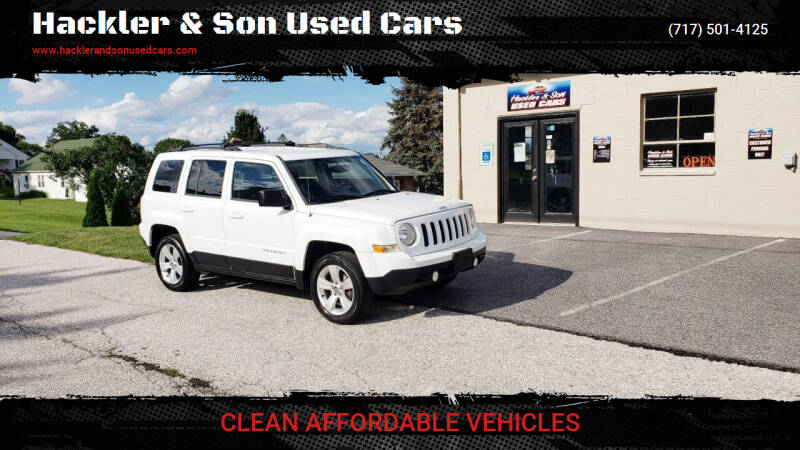2014 Jeep Patriot for sale at Hackler & Son Used Cars in Red Lion PA