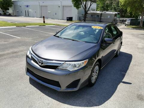 2014 Toyota Camry for sale at Best Price Car Dealer in Hallandale Beach FL