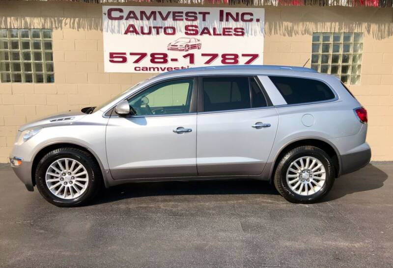 2010 Buick Enclave for sale at Camvest Inc. Auto Sales in Depew NY