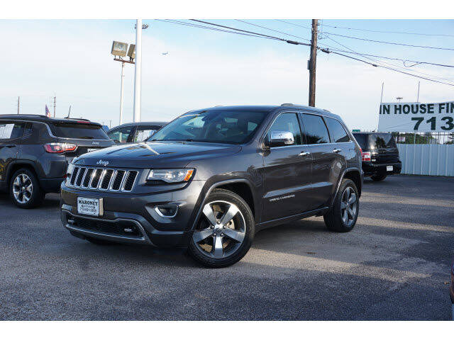 2014 Jeep Grand Cherokee for sale at Maroney Auto Sales in Humble TX