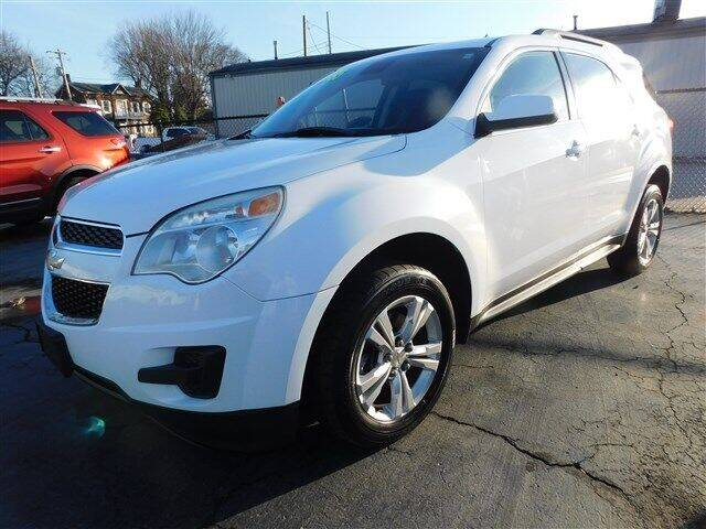 2012 Chevrolet Equinox for sale at D & T Auto Sales, Inc. in Henderson KY