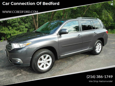 2012 Toyota Highlander for sale at Car Connection of Bedford in Bedford OH