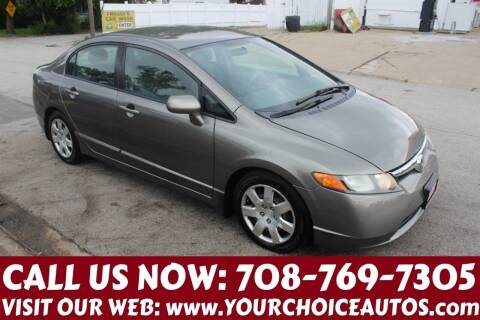 2008 Honda Civic for sale at Your Choice Autos in Posen IL