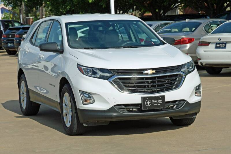 2018 Chevrolet Equinox for sale at Silver Star Motorcars in Dallas TX