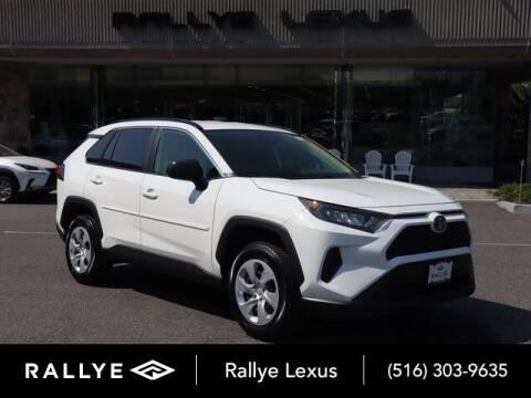2019 Toyota RAV4 for sale at RALLYE LEXUS in Glen Cove NY