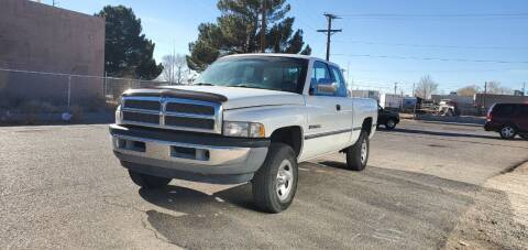 1996 Dodge Ram Pickup 1500 for sale at One Community Auto LLC in Albuquerque NM