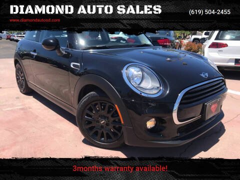 2017 MINI Hardtop 2 Door for sale at DIAMOND AUTO SALES in El Cajon CA