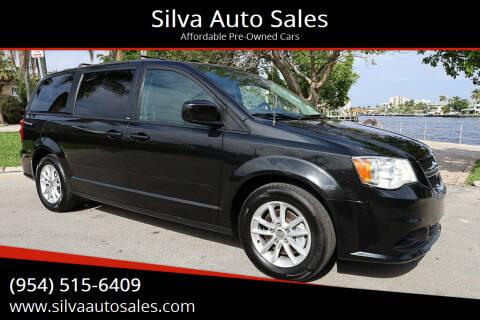 2014 Dodge Grand Caravan for sale at Silva Auto Sales in Pompano Beach FL