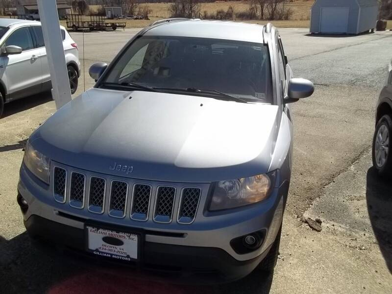 2016 Jeep Compass for sale at Gilliam Motors Inc in Dillwyn VA