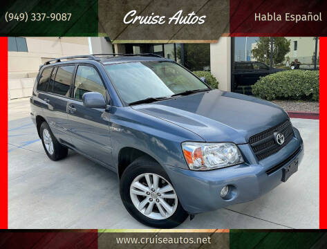 2007 Toyota Highlander Hybrid for sale at Cruise Autos in Corona CA