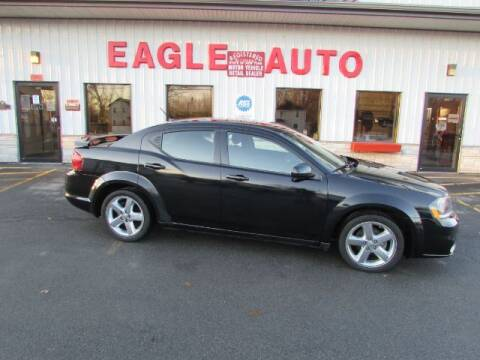 2013 Dodge Avenger for sale at Eagle Auto Center in Seneca Falls NY