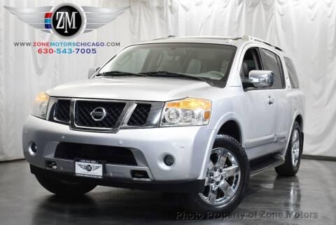 2010 Nissan Armada for sale at ZONE MOTORS in Addison IL
