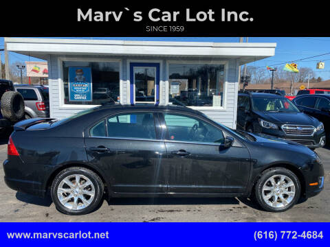 2012 Ford Fusion for sale at Marv`s Car Lot Inc. in Zeeland MI