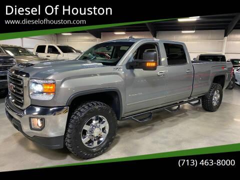 2017 GMC Sierra 2500HD for sale at Diesel Of Houston in Houston TX