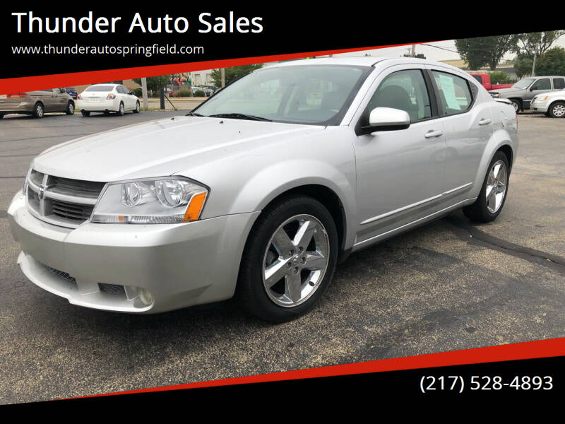 2008 Dodge Avenger for sale at Thunder Auto Sales in Springfield IL