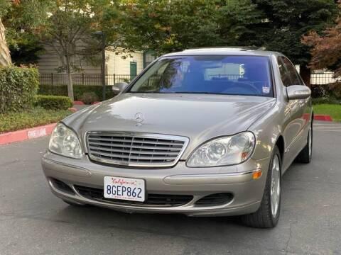 2003 Mercedes-Benz S-Class for sale at ZaZa Motors in San Leandro CA