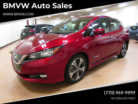 2018 Nissan LEAF for sale at BMVW Auto Sales in Union City GA