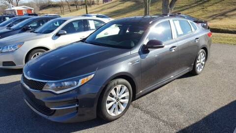 2017 Kia Optima for sale at Gallia Auto Sales in Bidwell OH
