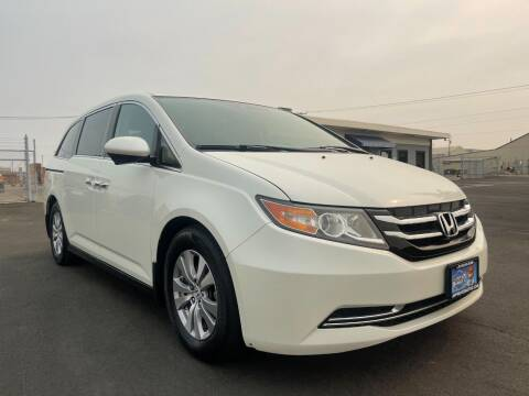 2015 Honda Odyssey for sale at Approved Autos in Sacramento CA