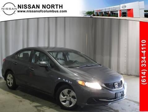 2013 Honda Civic for sale at Auto Center of Columbus in Columbus OH