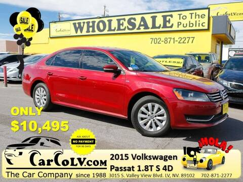 2015 Volkswagen Passat for sale at The Car Company in Las Vegas NV
