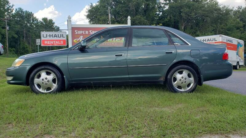 2004 Toyota Avalon for sale at Super Sport Auto Sales in Hope Mills NC