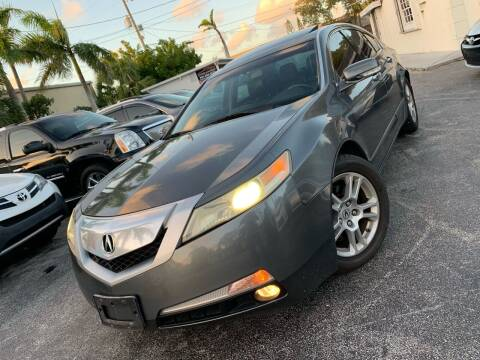 2009 Acura TL for sale at Citywide Auto Group LLC in Pompano Beach FL