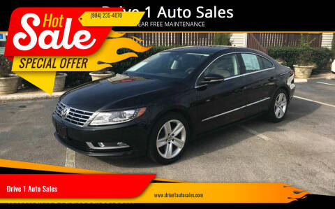 2014 Volkswagen CC for sale at Drive 1 Auto Sales in Wake Forest NC