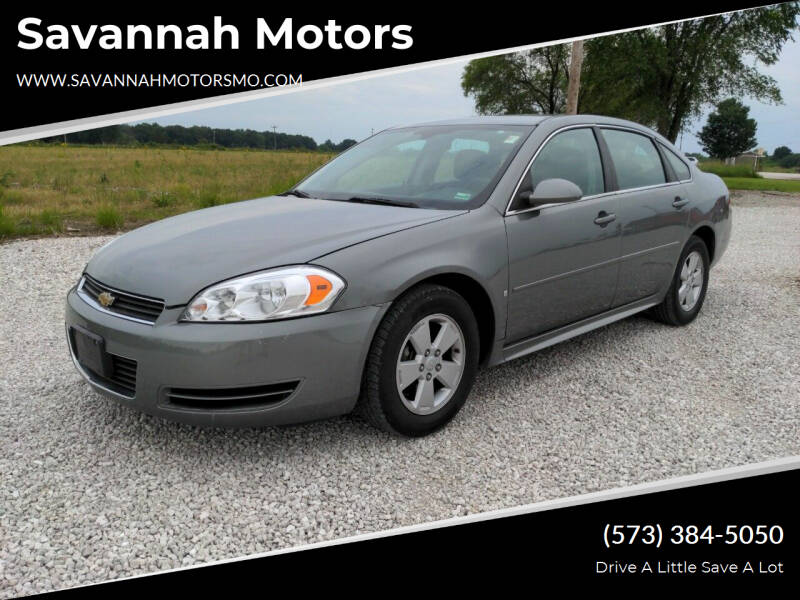 2009 Chevrolet Impala for sale at Savannah Motors in Elsberry MO