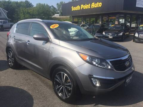 2015 Kia Sportage for sale at South Point Auto Plaza, Inc. in Albany NY