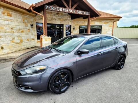 2015 Dodge Dart for sale at Performance Motors Killeen Second Chance in Killeen TX