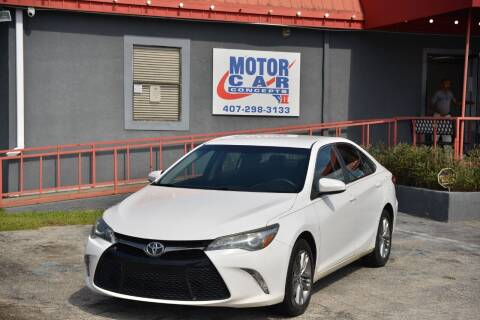 2015 Toyota Camry for sale at Motor Car Concepts II - Kirkman Location in Orlando FL